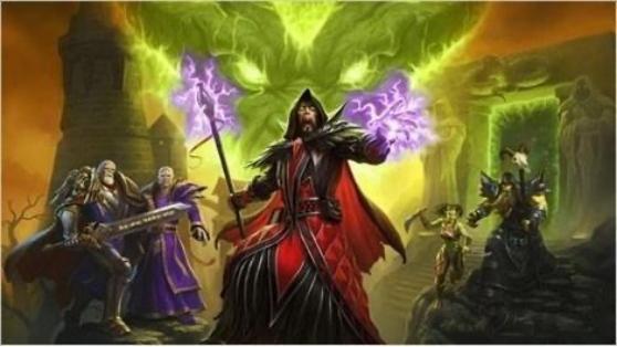 魔兽世界史上最强法师之一安东尼达斯