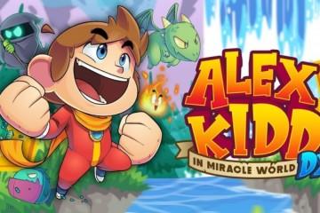 艾立克斯小子的神奇世界DX将于6月25日在各主机平台发售