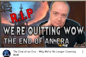 失望透顶知名魔兽世界内容创作者宣布停止创作